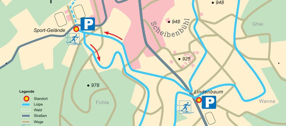 Loipenplan Obernheim