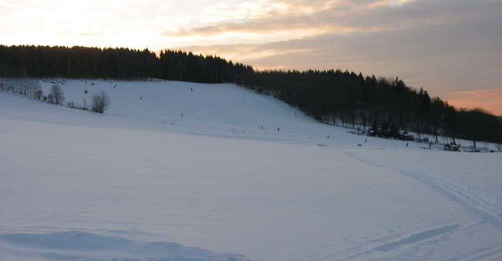 Mappa delle piste Comparto sciistico Skiclub Falkenau