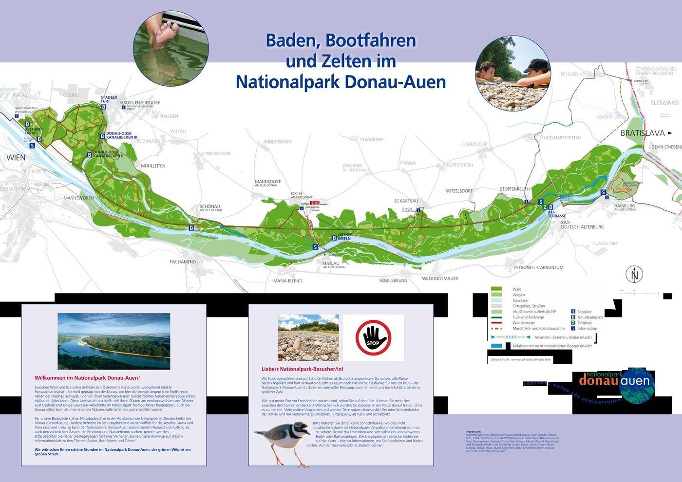 BERGFEX Sehenswürdigkeiten Nationalpark Donau Auen Wien